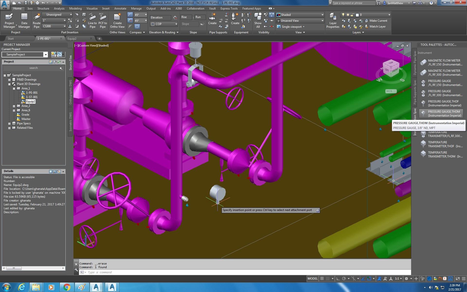 AutoCAD-Plant-3D-araç-seti